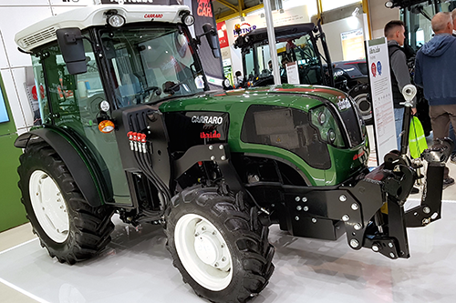 World's first hybrid tractor